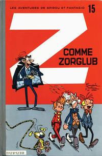 Cover Thumbnail for Les Aventures de Spirou et Fantasio (Dupuis, 1950 series) #15 - Z comme Zorglub