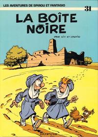 Cover Thumbnail for Les Aventures de Spirou et Fantasio (Dupuis, 1950 series) #31 - La boîte noire