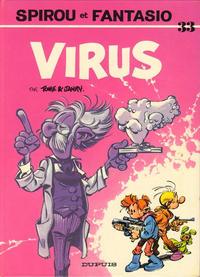 Cover Thumbnail for Les Aventures de Spirou et Fantasio (Dupuis, 1950 series) #33 - Virus