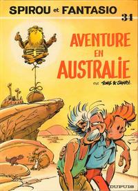 Cover Thumbnail for Les Aventures de Spirou et Fantasio (Dupuis, 1950 series) #34 - Aventure en Australie