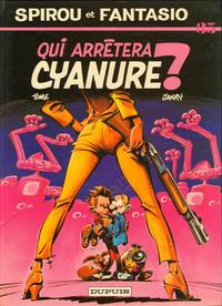 Cover Thumbnail for Les Aventures de Spirou et Fantasio (Dupuis, 1950 series) #35 - Qui arrêtera Cyanure ?