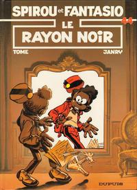 Cover Thumbnail for Les Aventures de Spirou et Fantasio (Dupuis, 1950 series) #44 - Le rayon noir