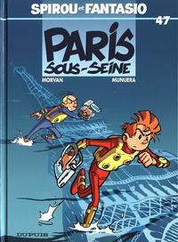 Cover Thumbnail for Les Aventures de Spirou et Fantasio (Dupuis, 1950 series) #47 - Paris-sous-Seine