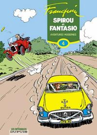 Cover Thumbnail for Spirou et Fantasio - L'Intégrale (Dupuis, 2006 series) #4 - Aventures modernes