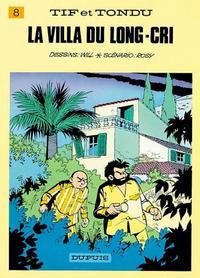 Cover Thumbnail for Tif et Tondu (Dupuis, 1954 series) #8 - La villa du Long-Cri
