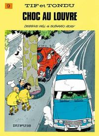 Cover Thumbnail for Tif et Tondu (Dupuis, 1954 series) #9 - Choc au Louvre