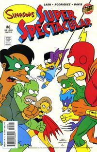 Cover Thumbnail for Bongo Comics Presents Simpsons Super Spectacular (Bongo, 2005 series) #6