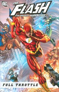 Cover Thumbnail for The Flash: The Fastest Man Alive: Full Throttle (DC, 2008 series)