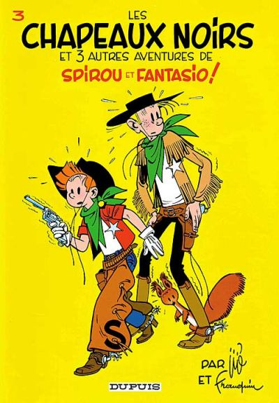 Cover for Les Aventures de Spirou et Fantasio (Dupuis, 1950 series) #3 - Les chapeaux noirs