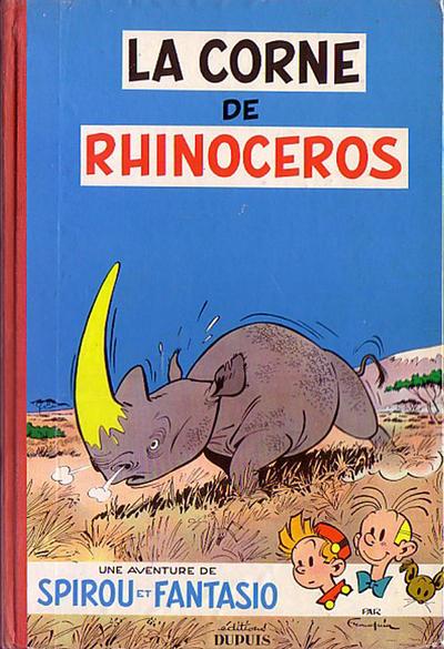 Cover for Les Aventures de Spirou et Fantasio (Dupuis, 1950 series) #6 - La corne de rhinocéros