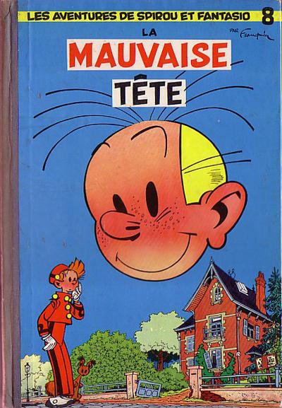 Cover for Les Aventures de Spirou et Fantasio (Dupuis, 1950 series) #8 - La mauvaise tête