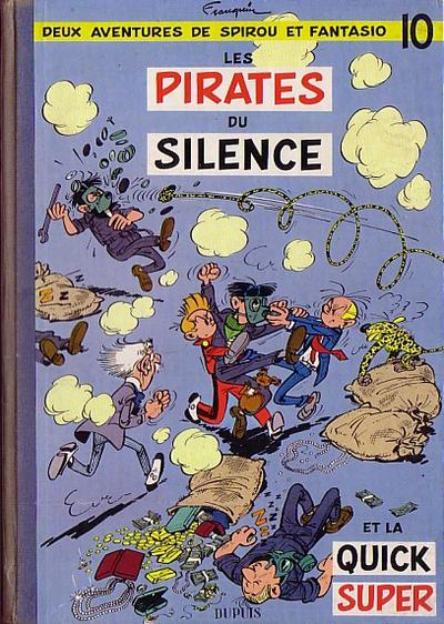 Cover for Les Aventures de Spirou et Fantasio (Dupuis, 1950 series) #10 - Les pirates du silence