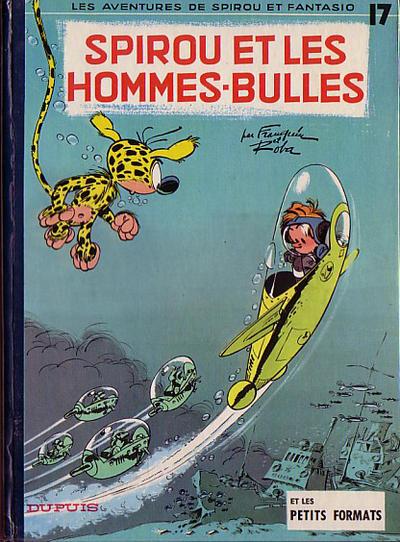 Cover for Les Aventures de Spirou et Fantasio (Dupuis, 1950 series) #17 - Spirou et les hommes-bulles