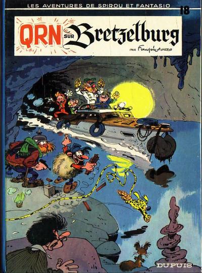 Cover for Les Aventures de Spirou et Fantasio (Dupuis, 1950 series) #18 - QRN sur Bretzelburg