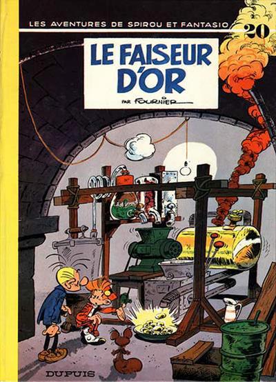 Cover for Les Aventures de Spirou et Fantasio (Dupuis, 1950 series) #20 - Le faiseur d'or