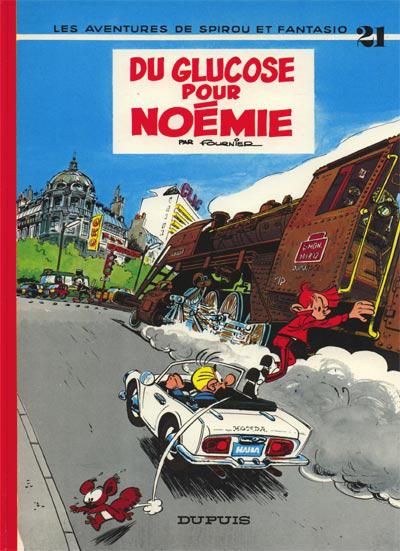 Cover for Les Aventures de Spirou et Fantasio (Dupuis, 1950 series) #21 - Du glucose pour Noémie