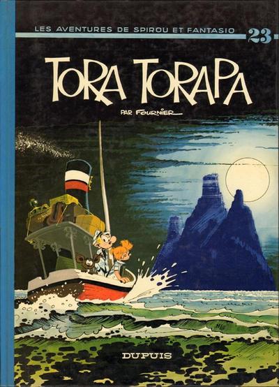 Cover for Les Aventures de Spirou et Fantasio (Dupuis, 1950 series) #23 - Tora Torapa