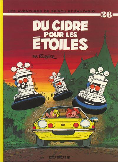 Cover for Les Aventures de Spirou et Fantasio (Dupuis, 1950 series) #26 - Du cidre pour les étoiles