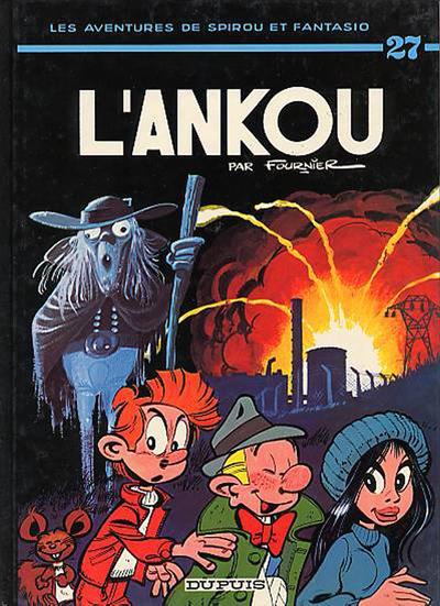 Cover for Les Aventures de Spirou et Fantasio (Dupuis, 1950 series) #27 - L'ankou