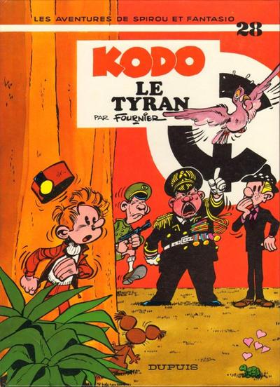 Cover for Les Aventures de Spirou et Fantasio (Dupuis, 1950 series) #28 - Kodo le tyran