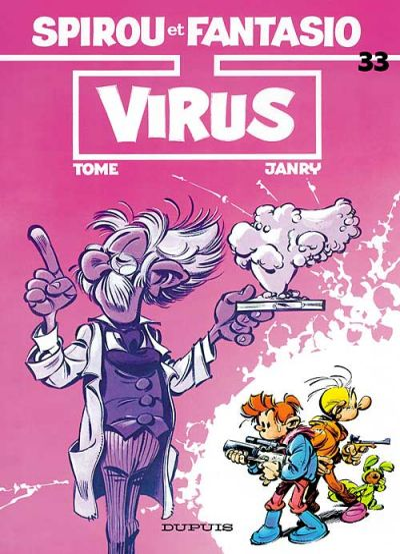 Cover for Les Aventures de Spirou et Fantasio (Dupuis, 1950 series) #33 - Virus