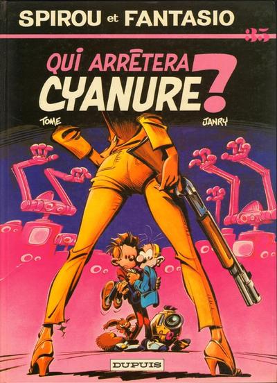 Cover for Les Aventures de Spirou et Fantasio (Dupuis, 1950 series) #35 - Qui arrêtera Cyanure ?