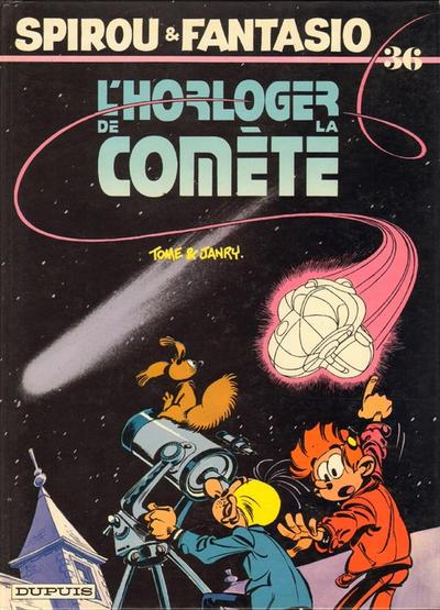 Cover for Les Aventures de Spirou et Fantasio (Dupuis, 1950 series) #36 - L'horloger de la comète