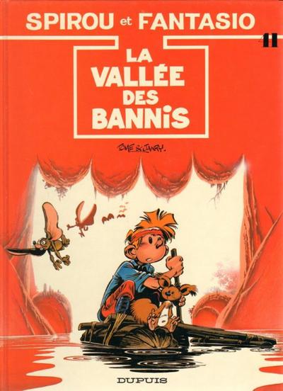 Cover for Les Aventures de Spirou et Fantasio (Dupuis, 1950 series) #41 - La vallée des bannis