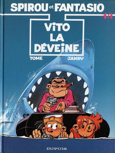 Cover for Les Aventures de Spirou et Fantasio (Dupuis, 1950 series) #43 - Vito la déveine