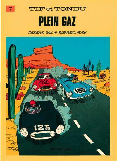 Cover for Tif et Tondu (Dupuis, 1954 series) #7 - Plein gaz