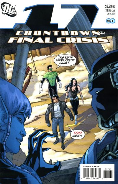 Cover for Countdown (DC, 2007 series) #17