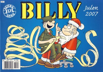 Cover for Billy julehefte (Hjemmet / Egmont, 1970 series) #2007