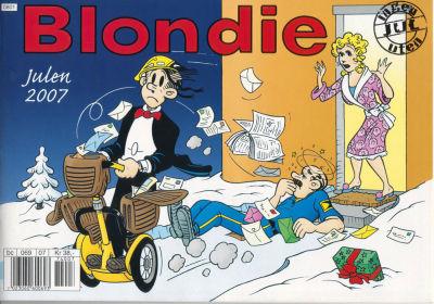 Cover for Blondie (Hjemmet / Egmont, 1941 series) #2007