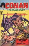 Cover for Conan e Kazar (Editoriale Corno, 1975 series) #4