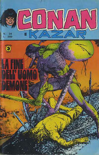 Cover Thumbnail for Conan e Kazar (Editoriale Corno, 1975 series) #34