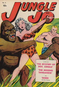 Cover Thumbnail for Jungle Jo (Superior Publishers Limited, 1950 series) #2