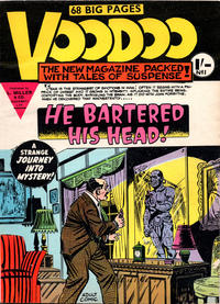 Cover Thumbnail for Voodoo (L. Miller & Son, 1961 series) #1