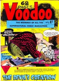 Cover for Voodoo (L. Miller & Son, 1961 series) #2