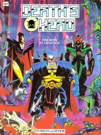 Cover Thumbnail for Death's Head: The Body in Question (Marvel UK, 1990 series)
