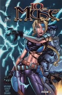 Cover Thumbnail for 10th Muse (Image, 2000 series) #3 [Ken Lashley Cover]
