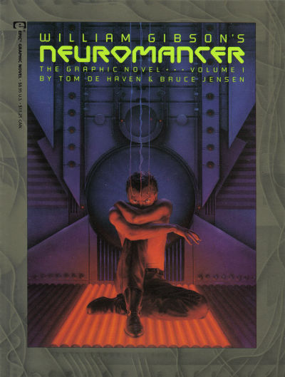 Cover for Neuromancer: The Graphic Novel (Marvel, 1989 series) #1