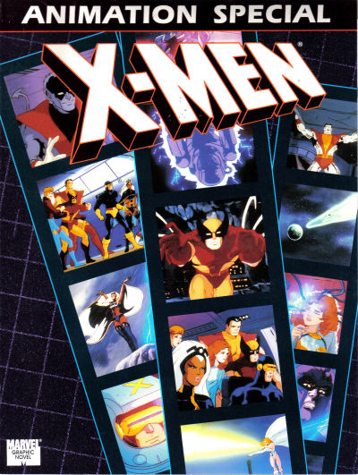 Cover for The X-Men Animation Special Graphic Novel (Marvel, 1992 series)