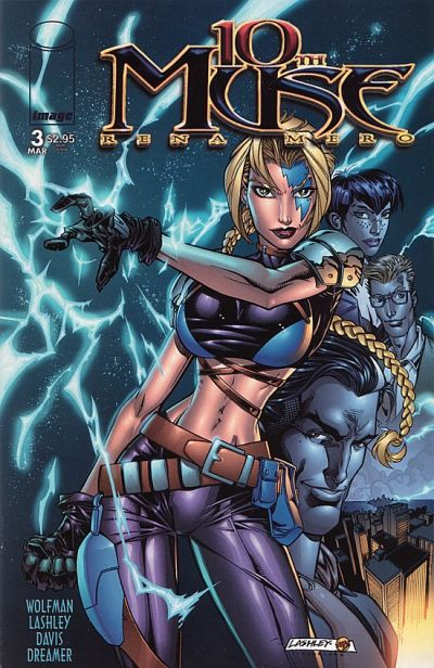 Cover for 10th Muse (Image, 2000 series) #3