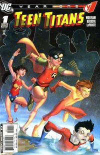 Cover Thumbnail for Teen Titans Year One (DC, 2008 series) #1