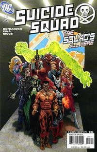 Cover Thumbnail for Suicide Squad: Raise the Flag (DC, 2007 series) #5