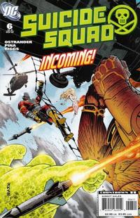 Cover Thumbnail for Suicide Squad: Raise the Flag (DC, 2007 series) #6