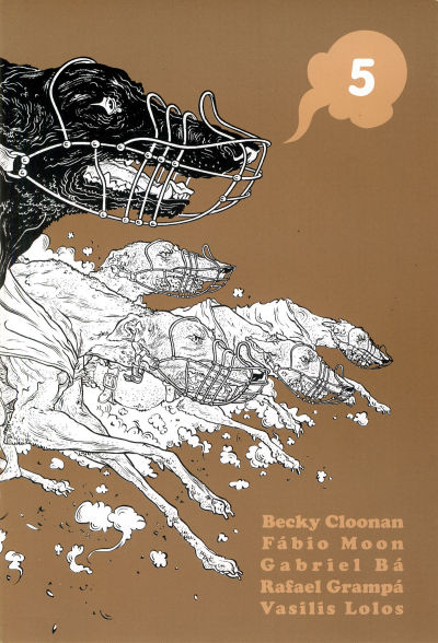 Cover for 5 (Becky Cloonan, 2007 series)