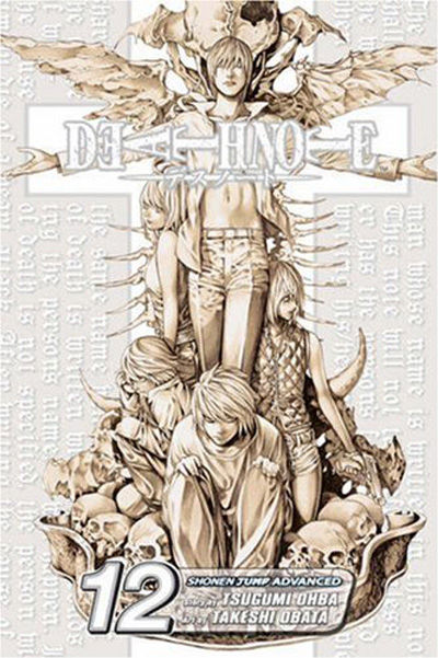 Cover for Death Note (Viz, 2005 series) #12 - Finis