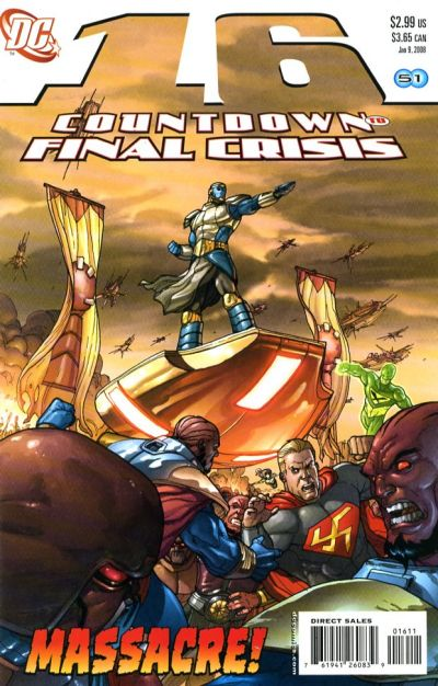 Cover for Countdown (DC, 2007 series) #16