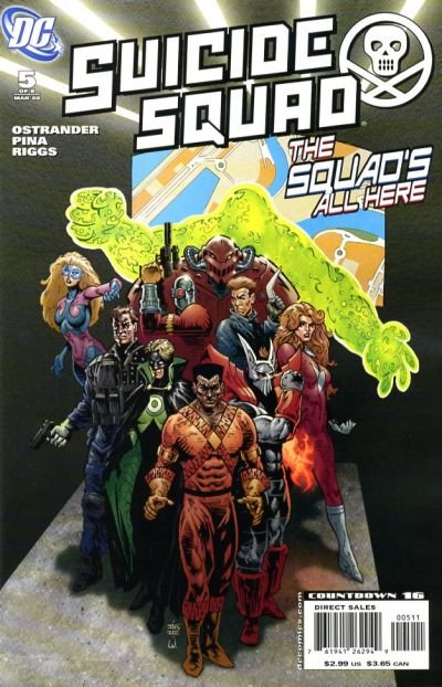 Cover for Suicide Squad: Raise the Flag (DC, 2007 series) #5